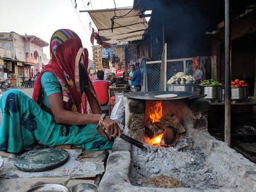 คลังภาพถ่ายฟรี ของ ชัยปุระ, ชาวอินเดีย, ถนน, ถ่านหิน