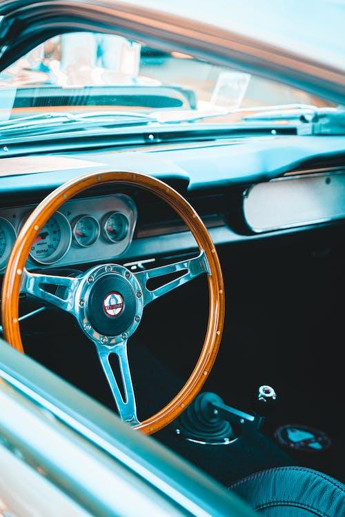 Part of Classic Car interior