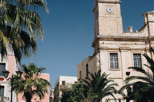 城鎮, 塔, 希臘, 建造 的 免费素材照片