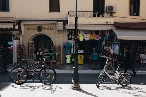 商店, 希臘, 日光, 街 的 免费素材照片
