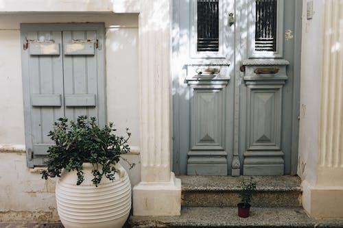 エントランス, ドア, 前面, 建物の無料の写真素材