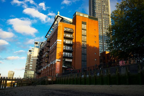 Free stock photo of oxo building, red building
