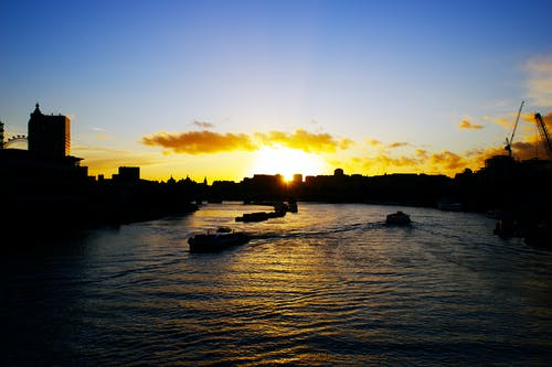 Free stock photo of london, river thames
