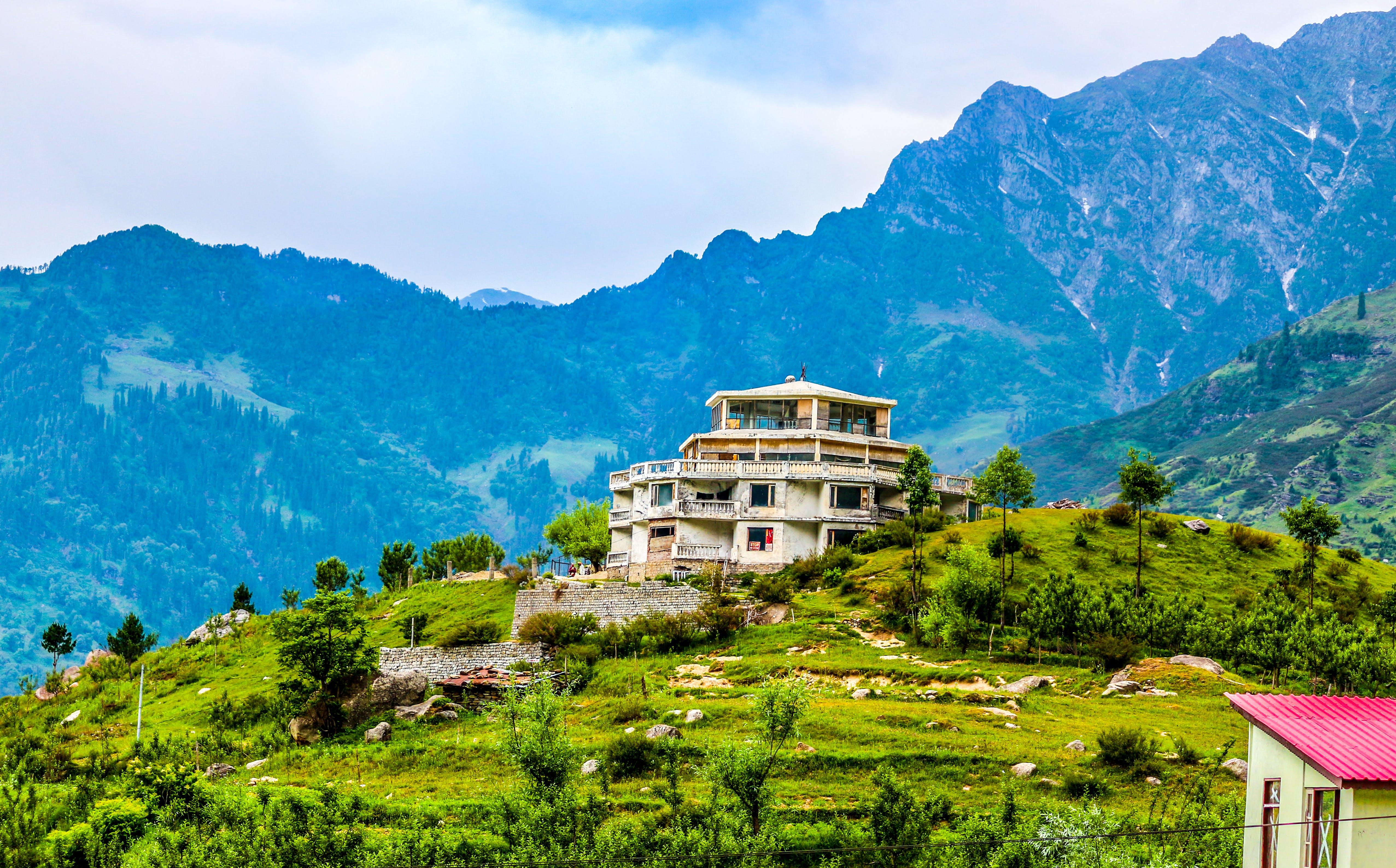 Free stock photo of beautiful view, green field, hills, hillside