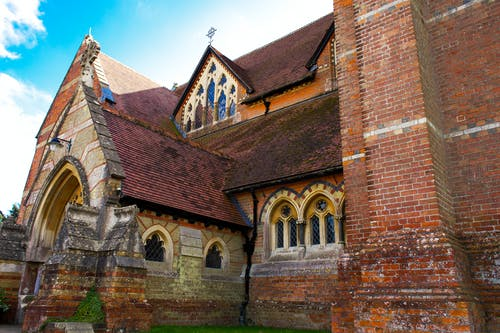 Free stock photo of church building, red brick