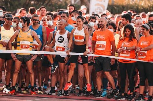 Základová fotografie zdarma na téma akce, běžec, běžecký závod