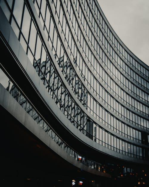 低角度拍攝, 反射, 城市, 審美觀 的 免费素材照片