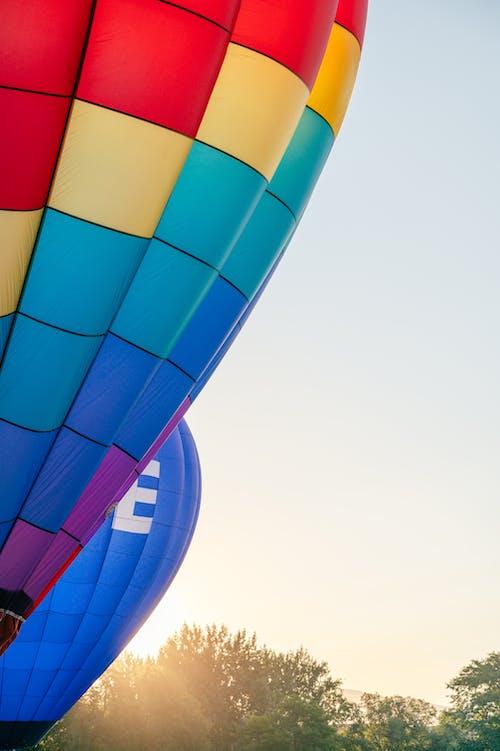 Darmowe zdjęcie z galerii z balon, balon na gorące powietrze, hel