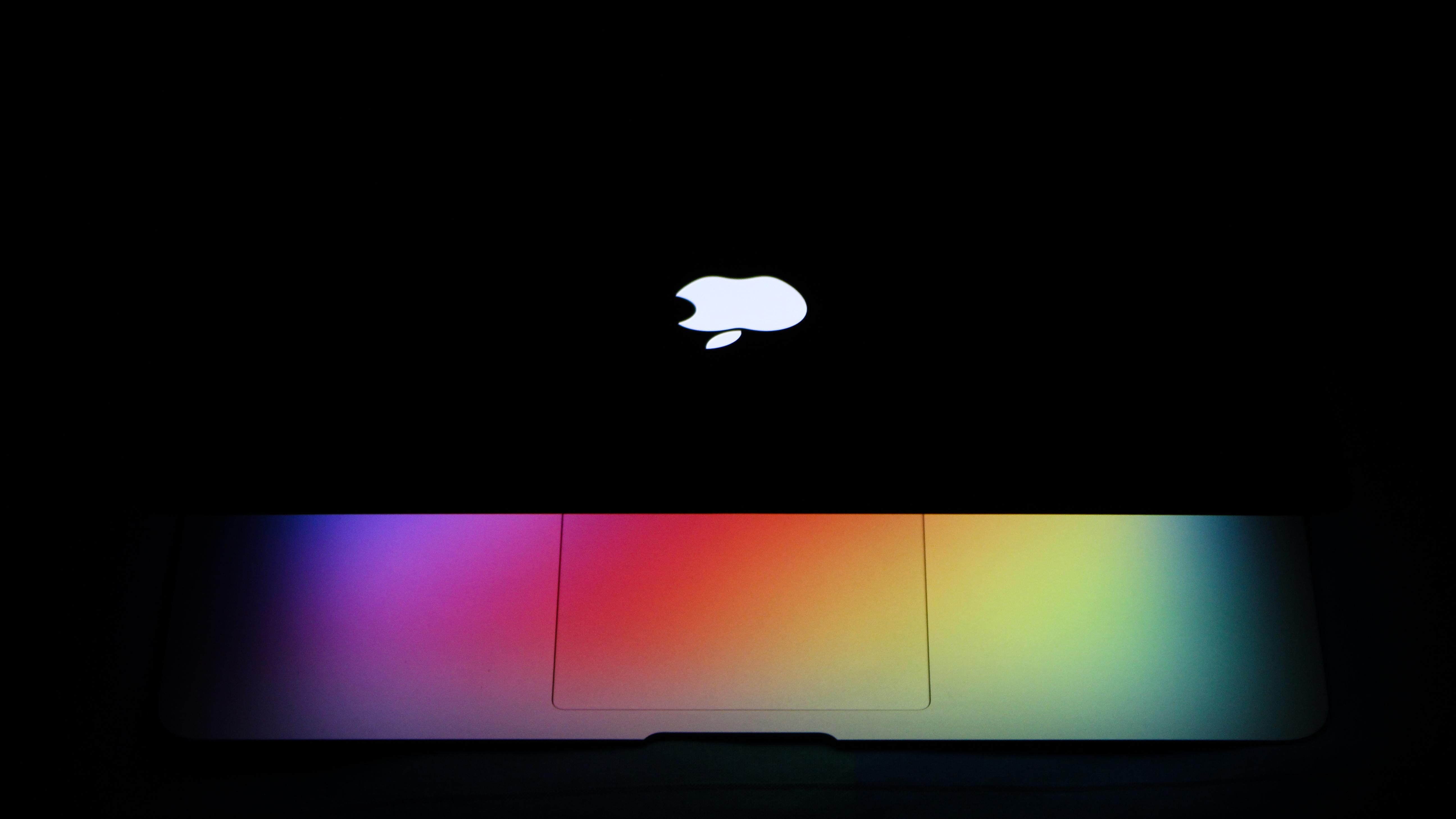 Photograph of Laptop In Dark Area