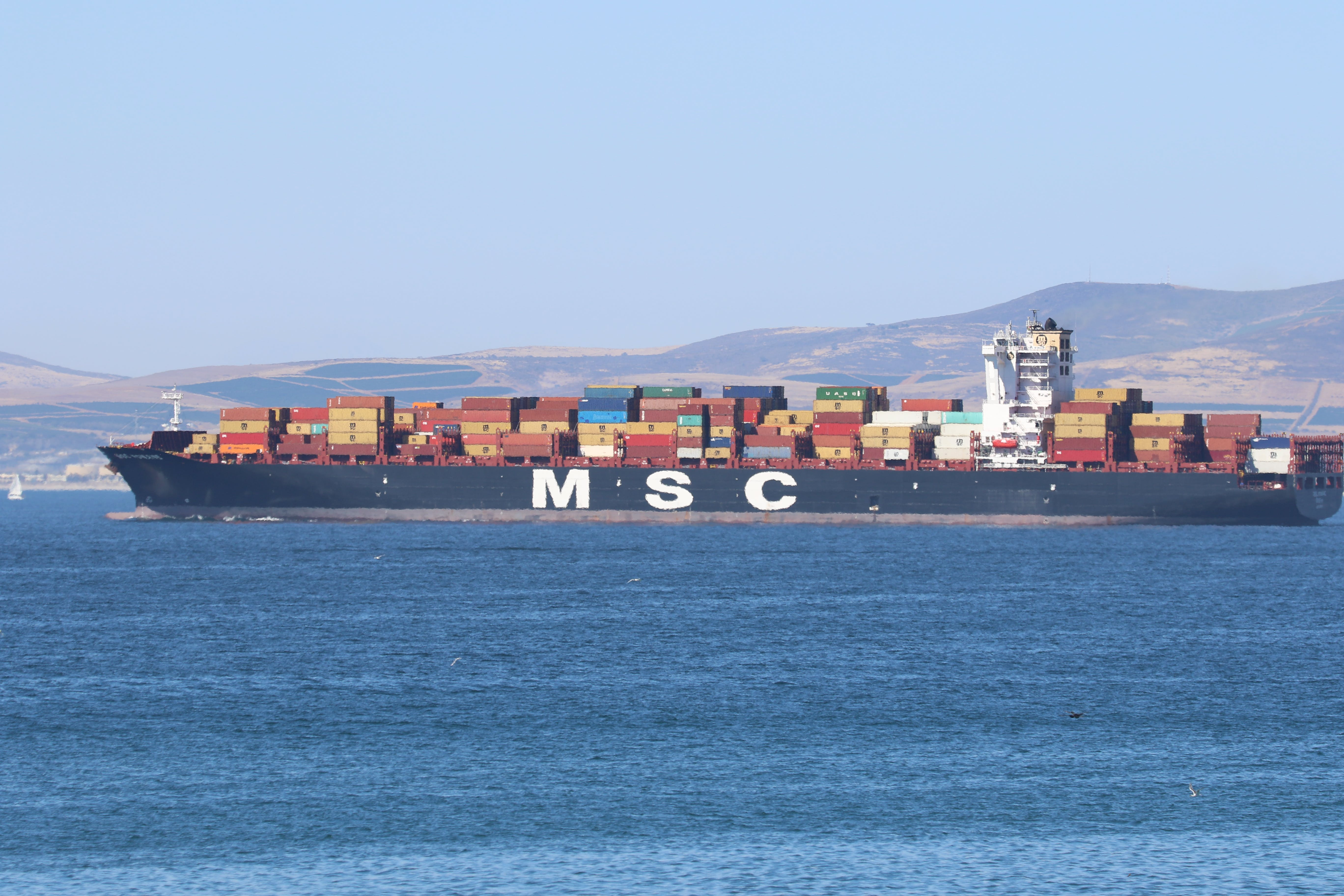 Free stock photo of cargo containers, ocean, sea, ship