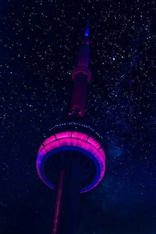Бесплатное стоковое фото с архитектура, Астрономия, башня, вечер