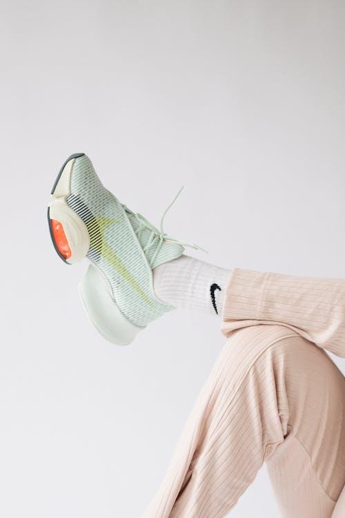 Human Foot in Sport Shoe