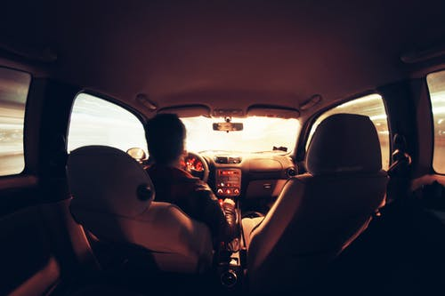 Free stock photo of car, driver, driving, interior