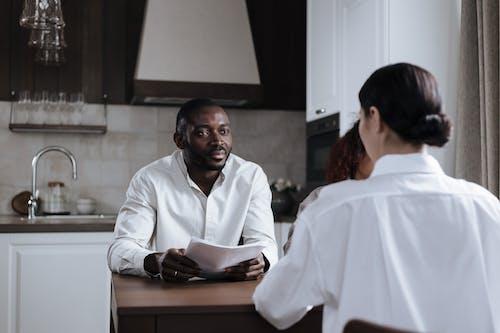 Foto stok gratis Afro-Amerika, dapur, istri