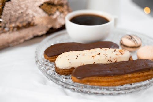 Základová fotografie zdarma na téma čaj, čokoláda, cookies