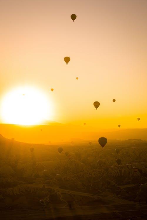 Free stock photo of air, balloon, bright