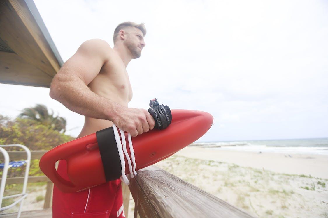 beach, life guard, lifeguard