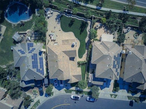 Foto profissional grátis de aéreo, água, antena