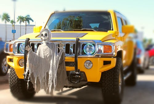 Free stock photo of automotive, day of the dead, dead