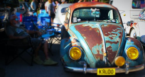Free stock photo of automobiles, automotive, blue car