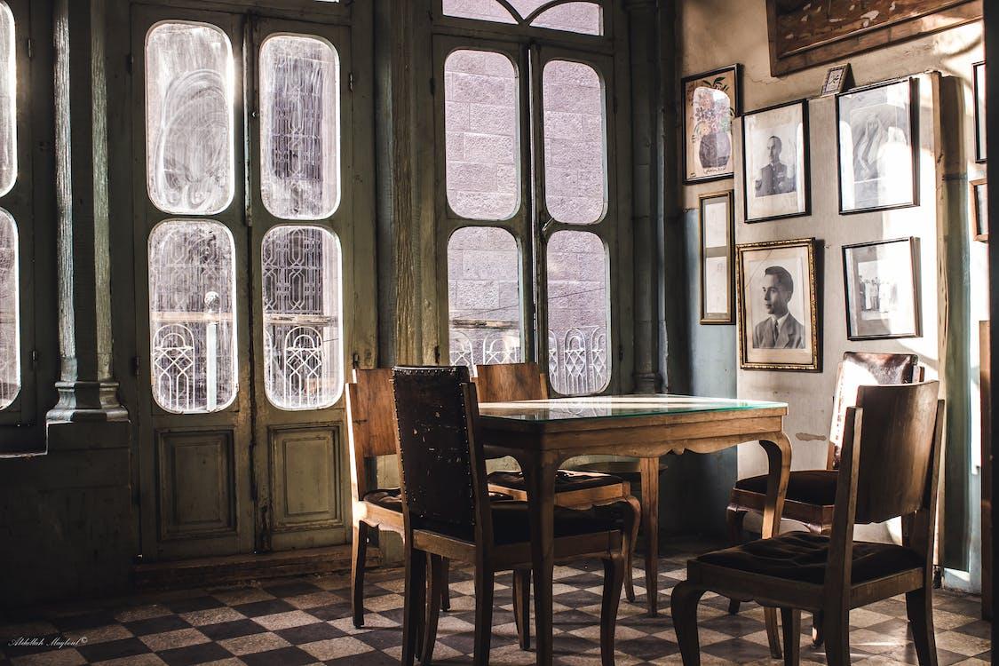ánh sáng ban ngày, bàn, căn hộ