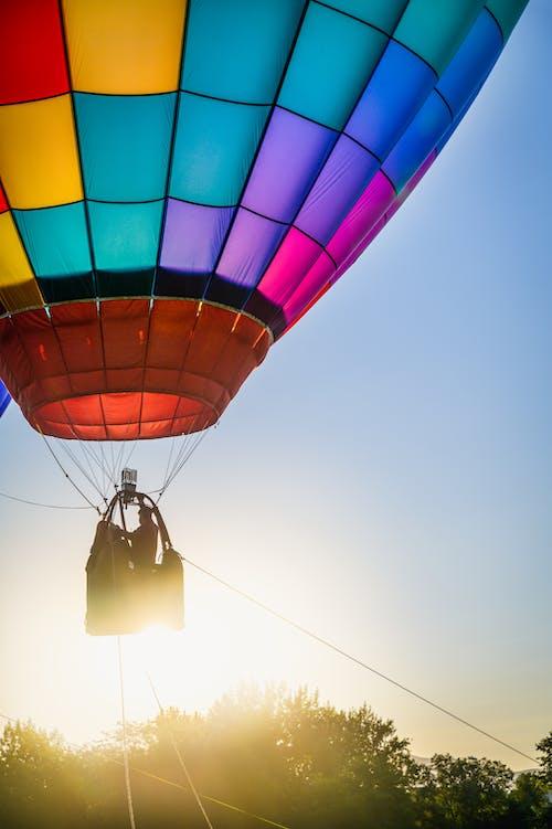 Darmowe zdjęcie z galerii z balon, balon na gorące powietrze, kolor