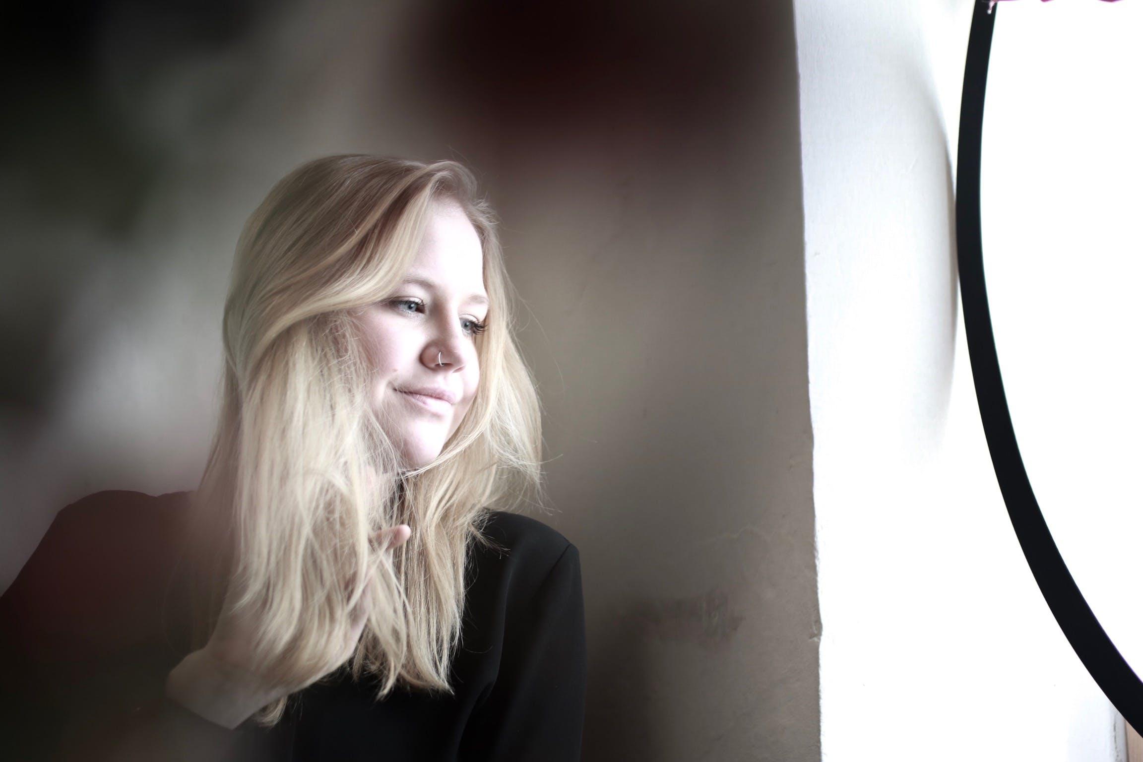 Free stock photo of blonde hair, canon, girl, photoshoot
