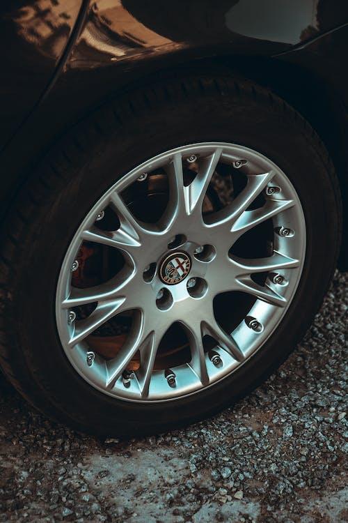 Car Tire and Rim