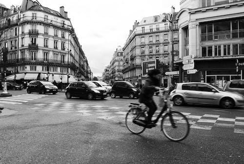 거리, 건물, 교통 체증의 무료 스톡 사진