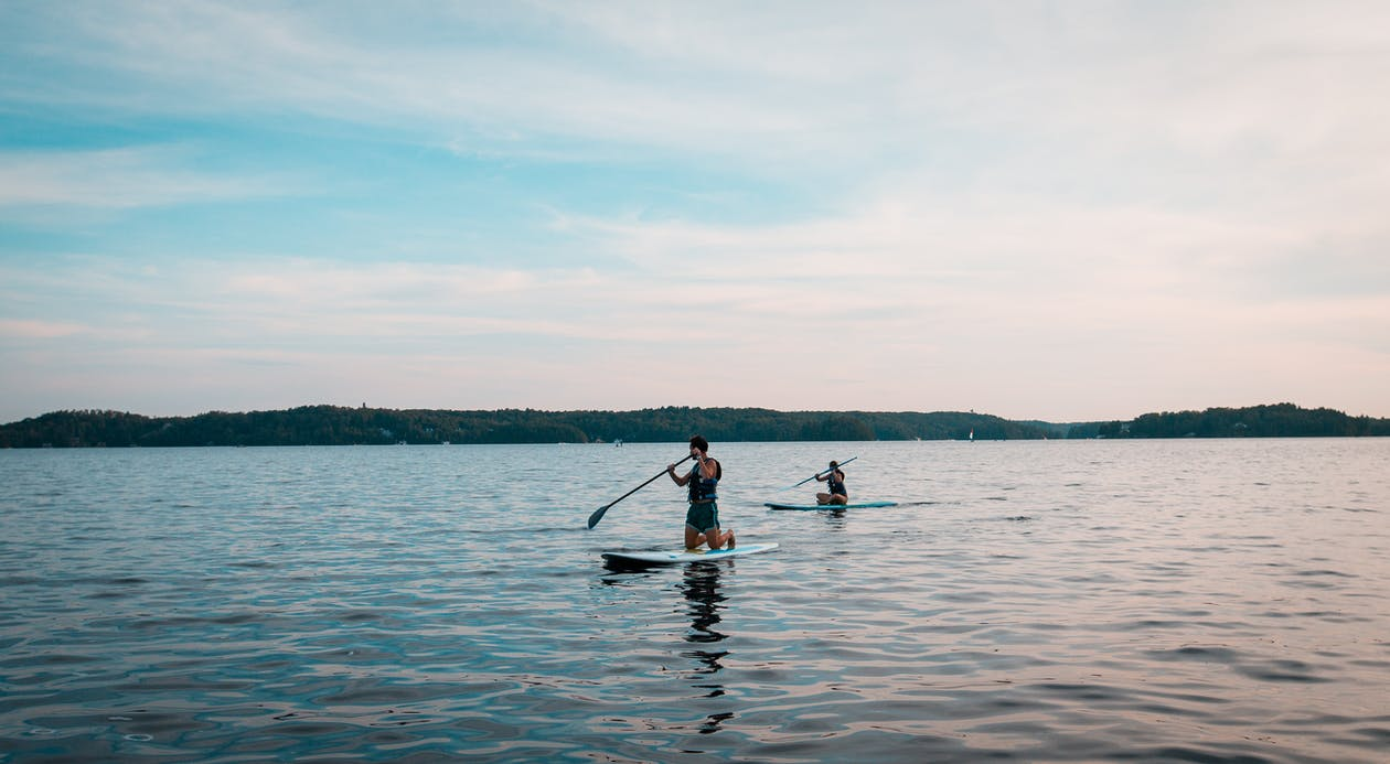 paddleboard, remar, remo