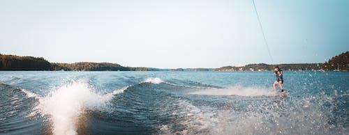 Kostnadsfri bild av båt, kanada, vattenskidor, wakeboard