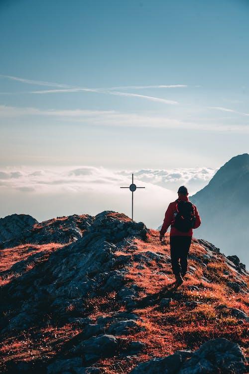 Δωρεάν στοκ φωτογραφιών με trekking, άθλημα, ακραίο έδαφος