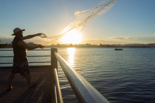 Free stock photo of angler, atlantic ocean, azure