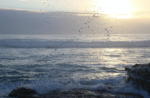 Photos gratuites de arrière-plan, aube, blocs, bord de mer