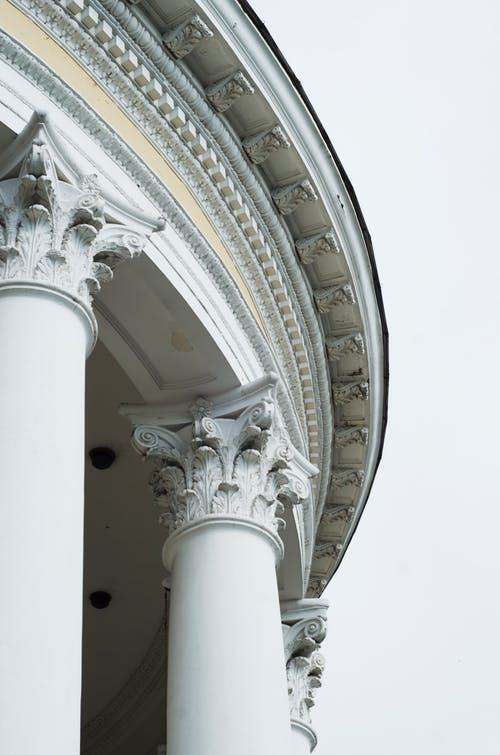 Columns of Neo-Classical Building