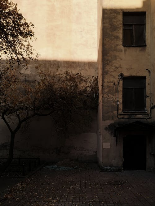 Foto d'estoc gratuïta de abandonat, arquitectura, carrer