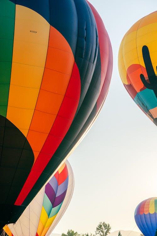 Darmowe zdjęcie z galerii z balon, balon na gorące powietrze, gorąco