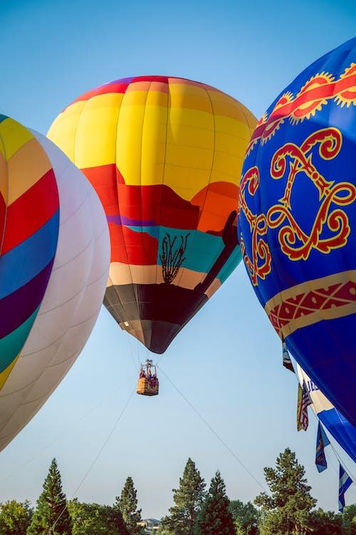 Darmowe zdjęcie z galerii z balon, balon na gorące powietrze, czas wolny
