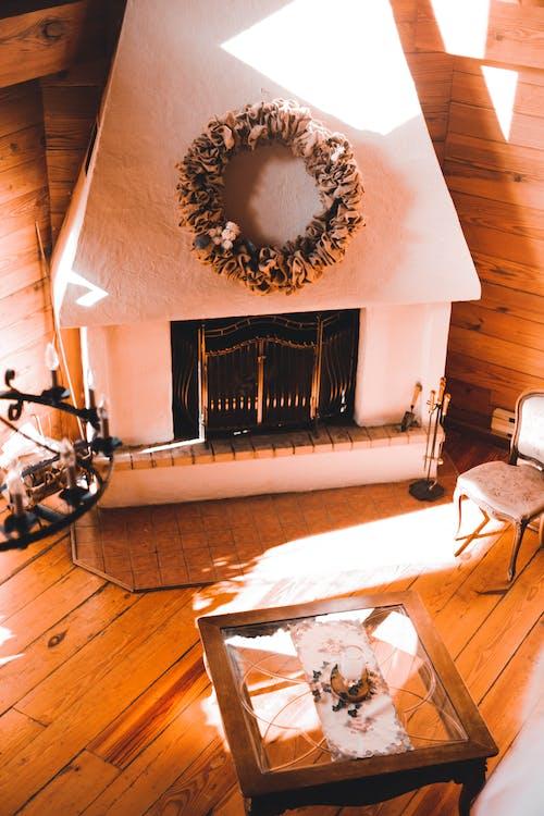 Gratis lagerfoto af bord, dekoration, hytte