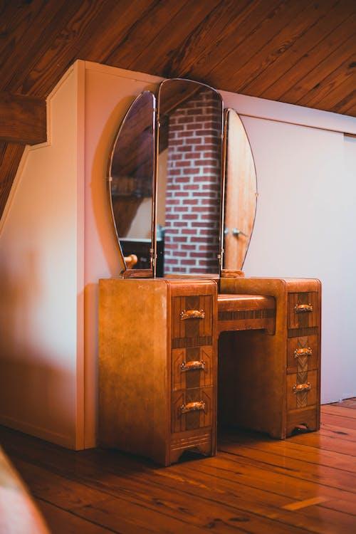 Základová fotografie zdarma na téma domácí interiér, dřevěná podlaha, dřevěný