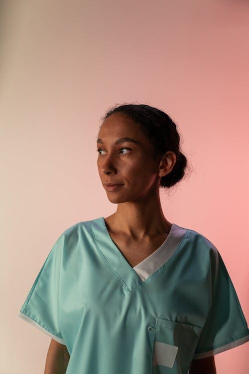 Nurse Looking Away