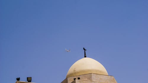 Free stock photo of airplane, allah, amman