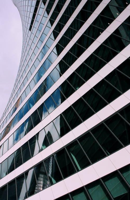 คลังภาพถ่ายฟรี ของ กลางแจ้ง, ด้านล่างโดยตรง, ตึกระฟ้า