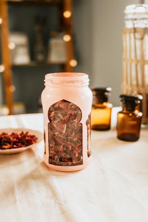 Foto profissional grátis de aromaterapia, copo, dentro de casa