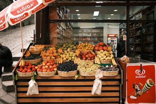 Gratis arkivbilde med bod, butikk, frukt