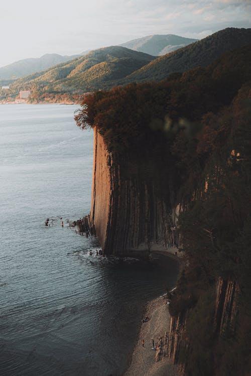 Imagine de stoc gratuită din coastă, deal, erodate