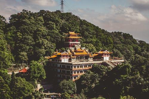 Kostnadsfri bild av arkitektur, Asien, berg, byggnad