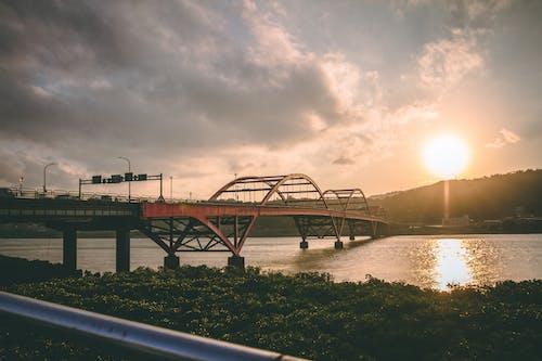 Landscape Photo of Bridge Near Body of Water