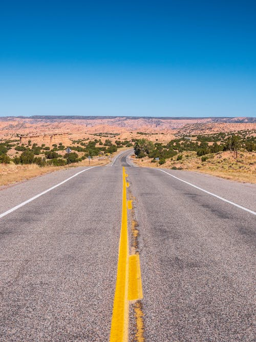 Free stock photo of desert, desert road, new mexico