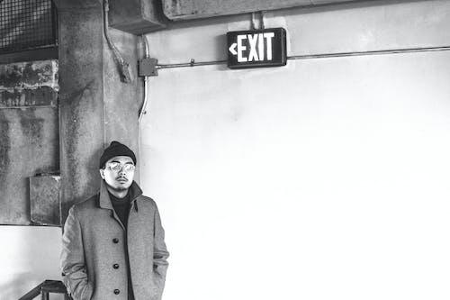Foto stok gratis exit, fashion, gaya, hitam & putih